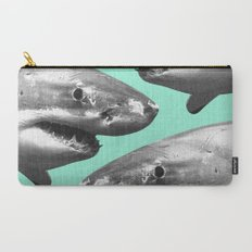 Shark pattern Carry-All Pouch