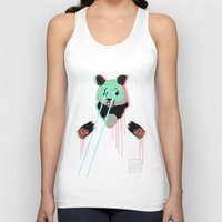 Panda with F$%king Lazers Unisex Tank Top