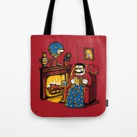 A Quiet Evening at Home Tote Bag