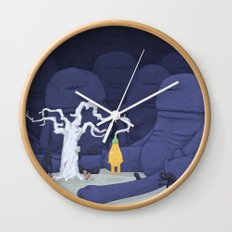 Nearly Ripe Wall Clock