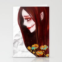 OVERLY ATTACHED GIRLFRIE… Stationery Cards
