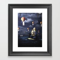 Madonna with Child (on the high sea)  Framed Art Print