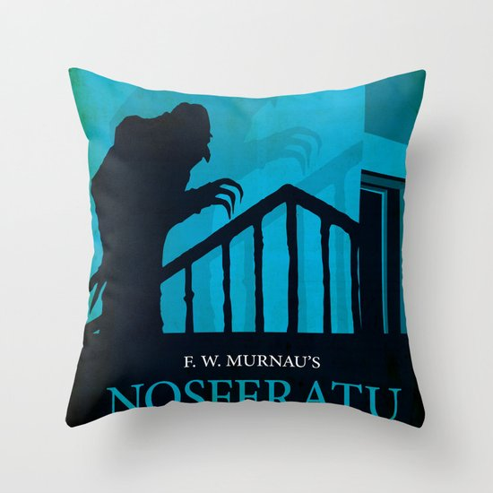 Nosferatu - A Symphony of Horror Throw Pillow