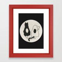 Antonym Framed Art Print