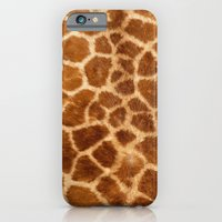 iPhone & iPod Case featuring Giraffe  by Jason Michael