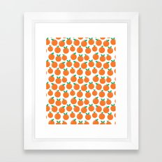 Oranges - Sweet Fruit Su… Framed Art Print