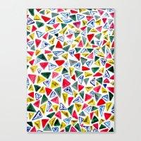 Triangle Relationship (I… Canvas Print
