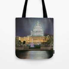 Christmas In The Distric… Tote Bag