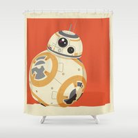 BB 8ight Shower Curtain