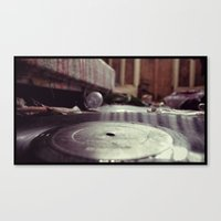 vinyl carpet Canvas Print