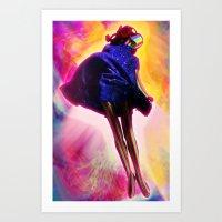 New Girl Art Print