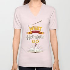 What Would Hermione Do? Unisex V-Neck