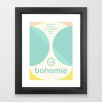 bohemie single hop Framed Art Print