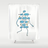 Doubts And Fears And Hop… Shower Curtain