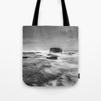Stormy Seascape Tote Bag