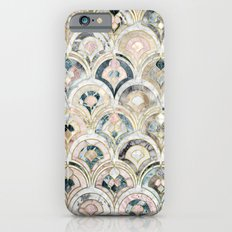 Art Deco Marble Tiles in Soft Pastels  iPhone 6 Slim Case