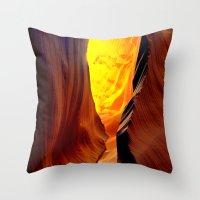 Magic Pass.  Low Antelop… Throw Pillow