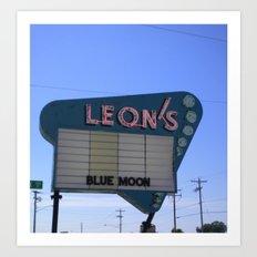 Leon's Art Print