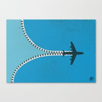 Unzip The Sky Canvas Print