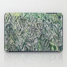 Snow Pines(Light Green) iPad Case