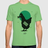 Stop Staring at my Cock Mens Fitted Tee Grass SMALL