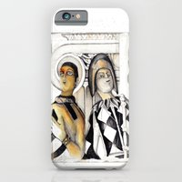 iPhone & iPod Case featuring Harlequins by bsvc