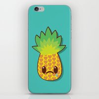 Weeping Ananas iPhone & iPod Skin
