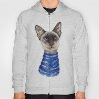 Siamese Cat Hoody