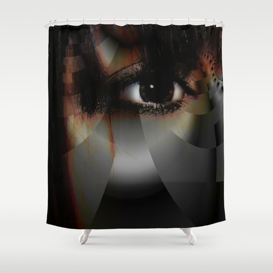 Window to the Soul Shower Curtain