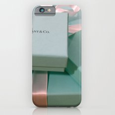 Pile of Boxes Tiffany Blue Style iPhone 6 Slim Case