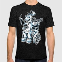Dr Farnsworthstein Mens Fitted Tee Tri-Black SMALL