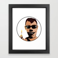 Mr. F - Arsonist Framed Art Print