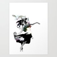 Dance Dance Art Print