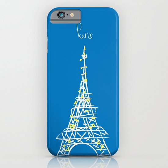belle à Paris iPhone & iPod Case