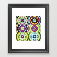 The Lie Is A Round Truth… Framed Art Print