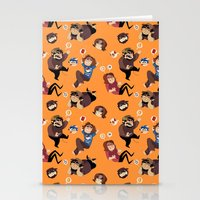 Game Grumps Pattern Stationery Cards