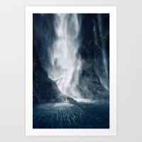 Bowen Falls 1 Art Print