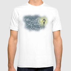 Pictures in the Snow Mens Fitted Tee White SMALL