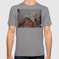 Picard Facepalm Meme Mens Fitted Tee Athletic Grey SMALL