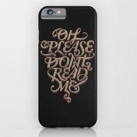 Please Don't iPhone 6 Slim Case