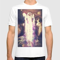 Cosmic Ascension Mens Fitted Tee White SMALL