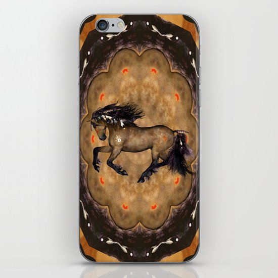 HORSE - Cherokee iPhone & iPod Skin