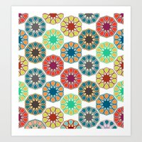 Pattern Untitled Art Print