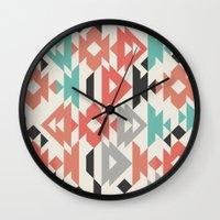Caleido Triangle Wall Clock