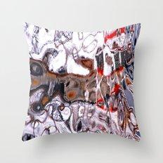 Kaskelot Reflections Throw Pillow