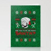 A Sunny Christmas Stationery Cards