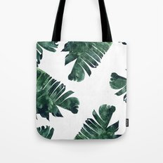 Banana Leaf Watercolor P… Tote Bag