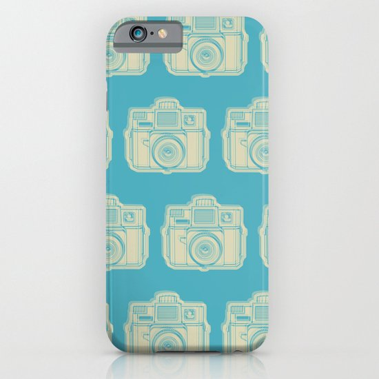 I Still Shoot Film Holga Logo - Turquoise/Tan iPhone & iPod Case