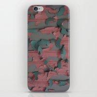 paint peel 1 iPhone & iPod Skin