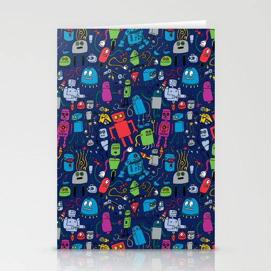 Robots Forever! Stationery Card